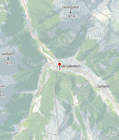 Karte / Ferienhaus Boden