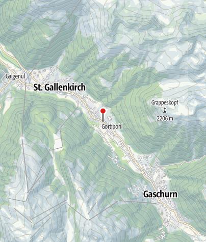 Karte / Bauernhaus Goira