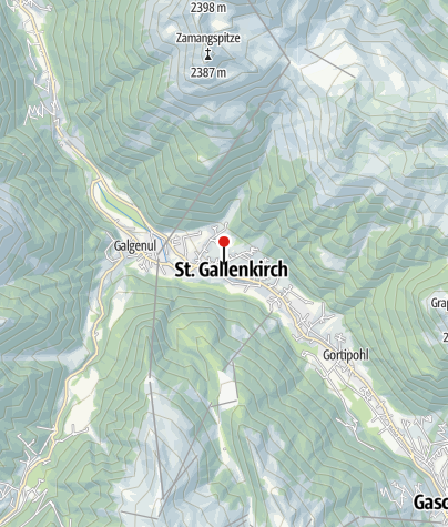 Karte / Haus Vallaster