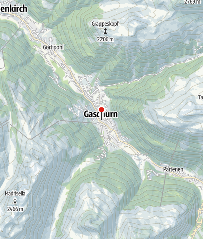 Karte / Hotel Monika & Montafon Chalets