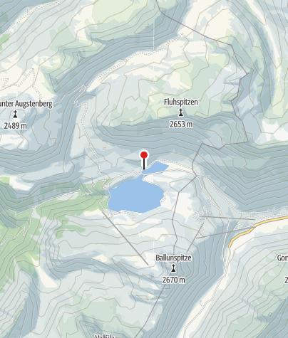 Map / Alpengasthof Zeinisjoch