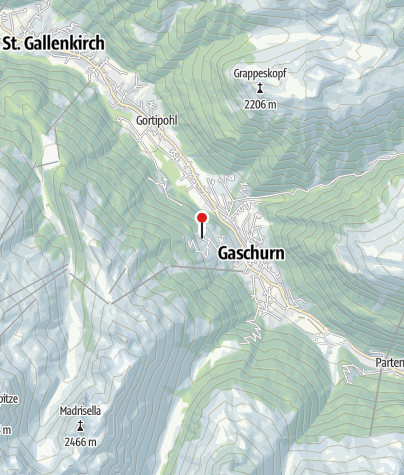 Karte / Berghof Gundalatsch