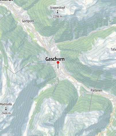 Karte / Haus Alpisella