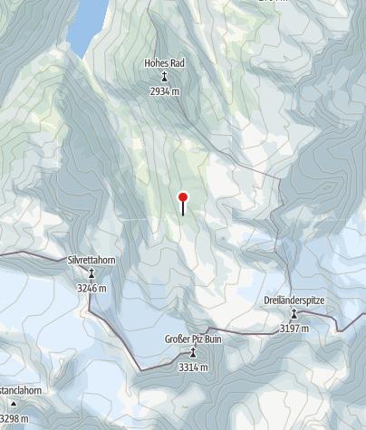 Karte / Wiesbadener Hütte