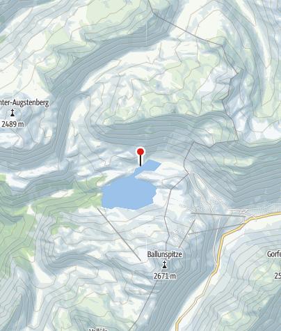 Kaart / Camping Zeinissee