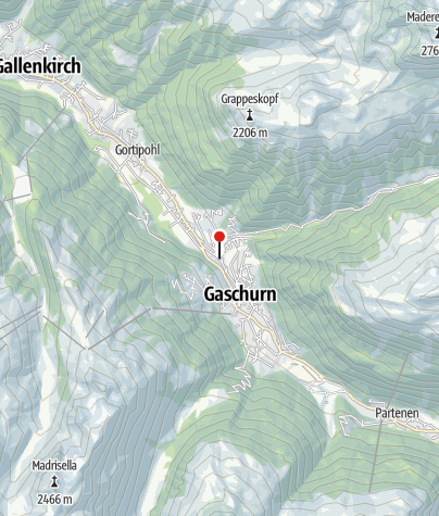 Karte / Gästehaus Wittwer