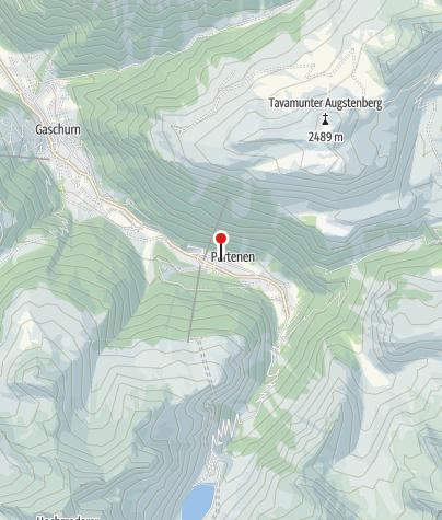 Kaart / Gästehaus Gschaider