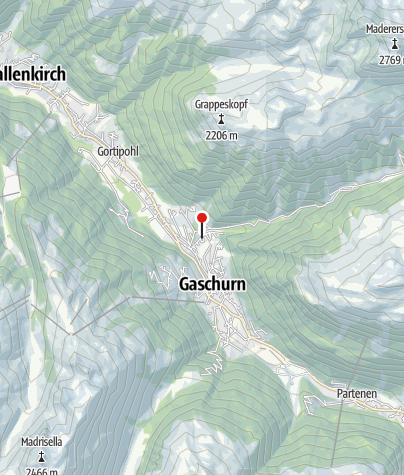 Karte / Pension Alpenrose
