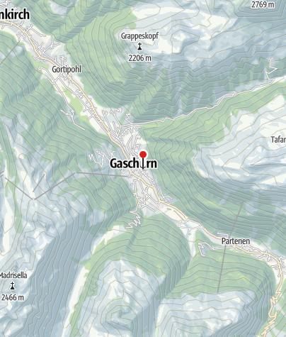 Karte / MONTAFONLodge