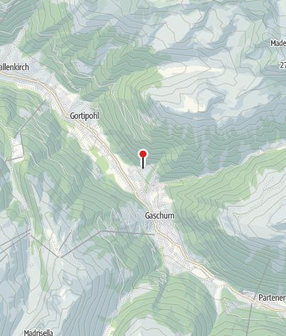 Karte / Ferienwohnung Rudigier Gaschurn
