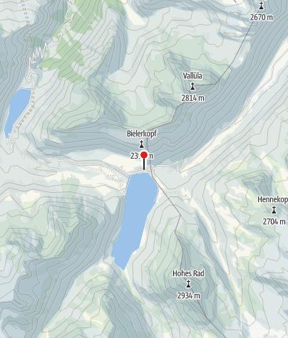 Kaart / Berggasthof Piz Buin