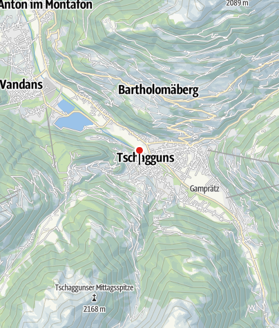 Karte / Appartmenthaus Dönz