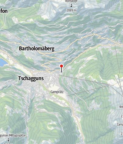 Karte / Ferienwohnungen Bitschnau