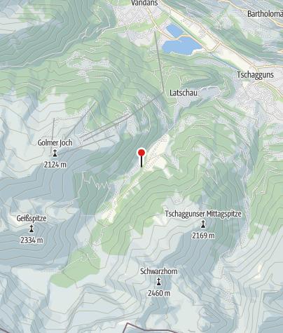 Karte / Gauertalhaus