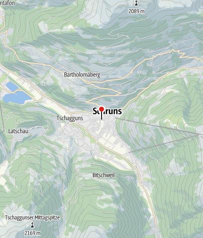 Karte / Gästehaus Davenna