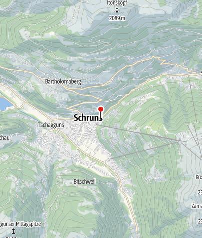 Kaart / Landhaus Berthold