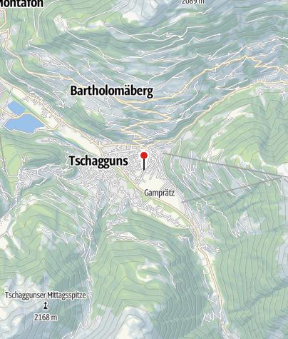 Kaart / Gästehaus Gschwendtner