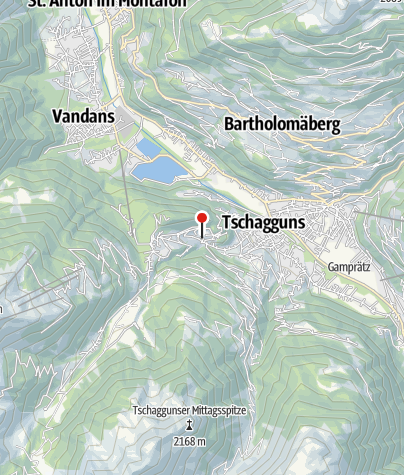 Kaart / Haus Bitschnau Herta