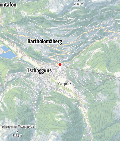 Karte / Haus Gavadura-Lechner