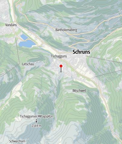 Karte / Haus Konzett