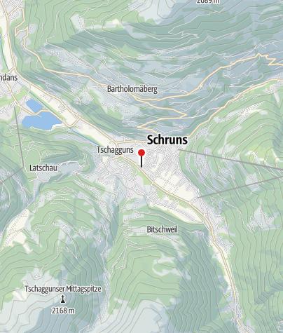Karte / Gästehaus Zimmermann