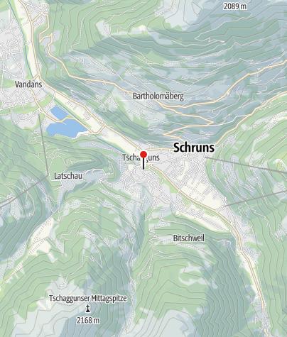 Kaart / Genießerhotel Montafoner Hof