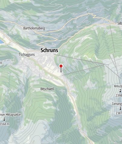 Karte / Gästehaus Angelika