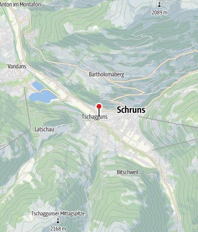 Karte / Haus Berger