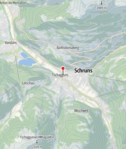 Kaart / Haus Berger