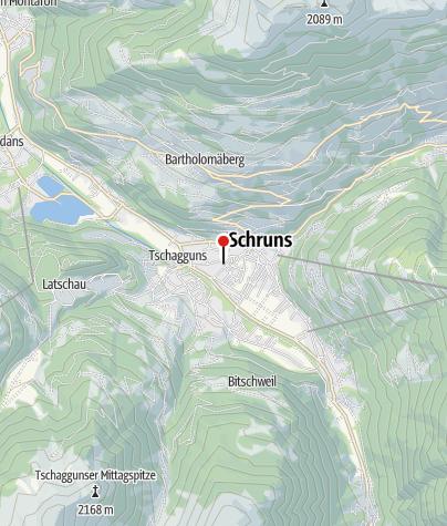 """Karte / Ferienwohnungen """"Sepplstoba"""""""