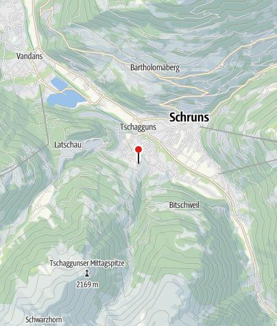 Karte / Pension Rundblick