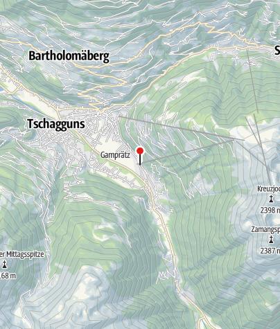 Karte / Alpenhaus Waldberg