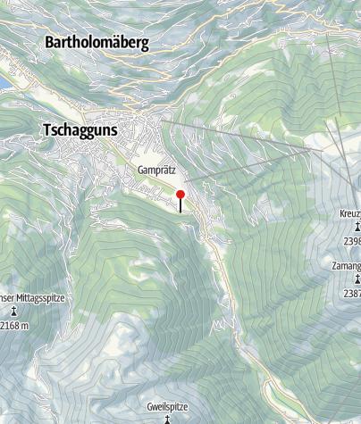 Karte / Haus Waldesruh