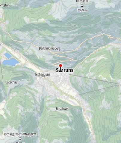 Karte / Haus Dönz