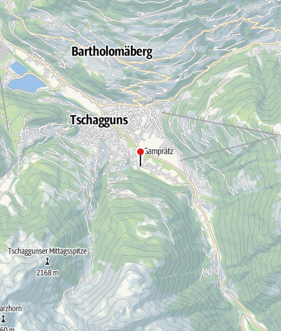 Karte / Aktivcamping Montafon