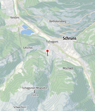 Karte / Pension Schwarzhorn
