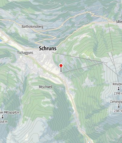 Karte / Appartement Schruns