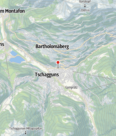 Karte / Ferienwohnung Breuss