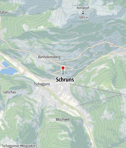 Karte / Scheibenstock Elisabeth