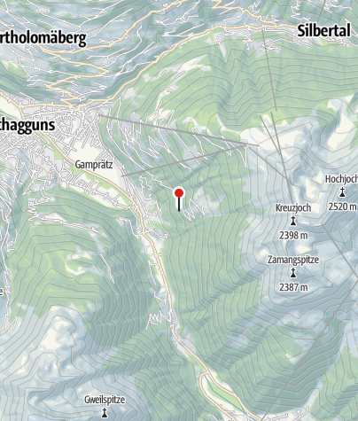 Karte / Ferienhaus Güatle
