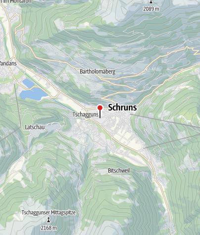 Karte / Ferienwohnung Grabher