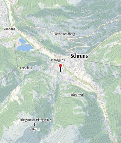 Karte / Haus Pfefferkorn Tschagguns