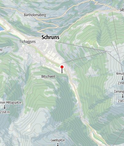 Karte / Ferienwohnung Bergblick