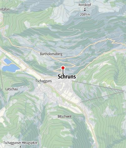 Karte / Ferienhaus Montjola