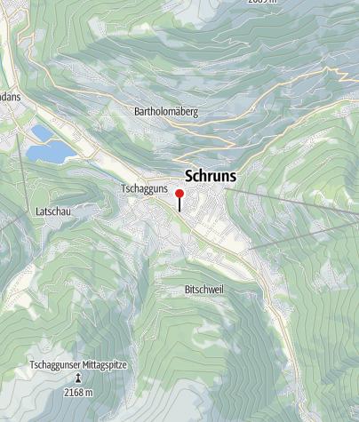 Karte / Hotel Auhof