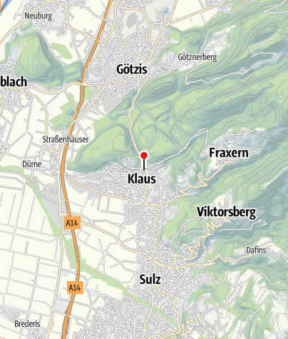 Karte / Klaus, Pfarrkirche Heilige Agnes