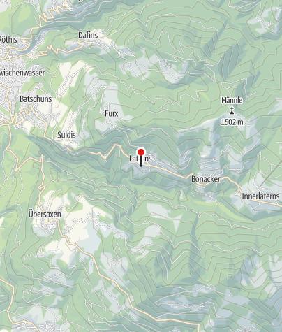Karte / Laterns, Pfarrkirche Heiliger Nikolaus