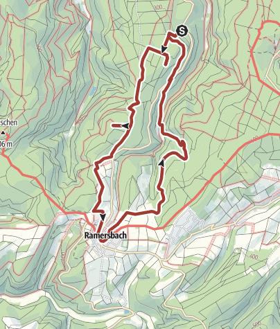Karte / Eisenweg