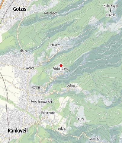 Karte / Viktorsberg, Pfarrkirche Heiliger Viktor