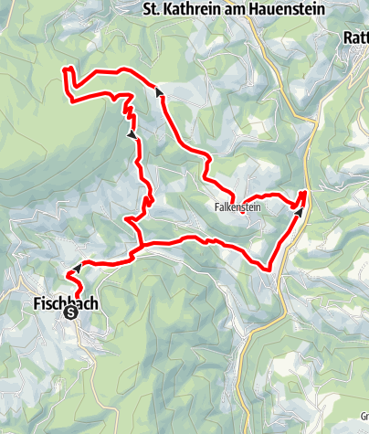 Karte / Fisch-Biker-Tour